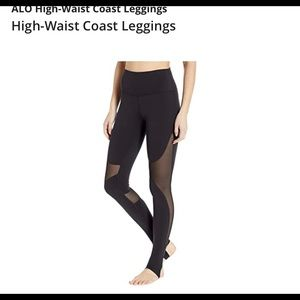 Alo high waist coast leggings